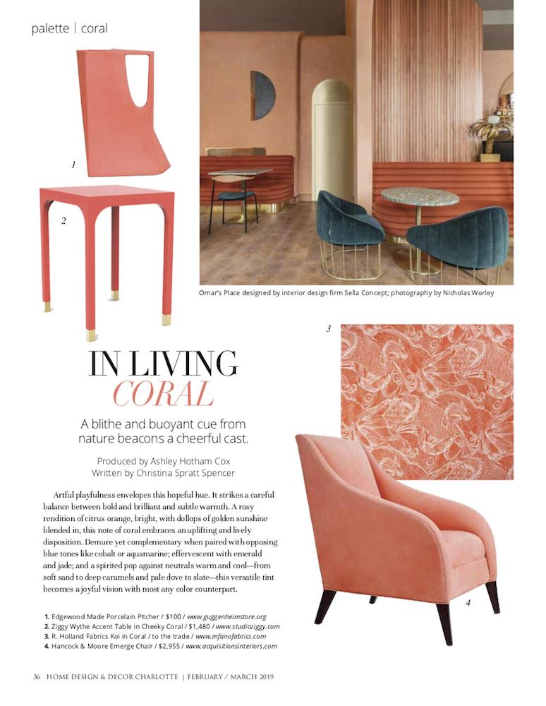 Susan Becher Associates Home Design Decor February